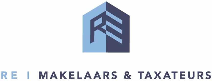 logo RE makelaars taxateurs